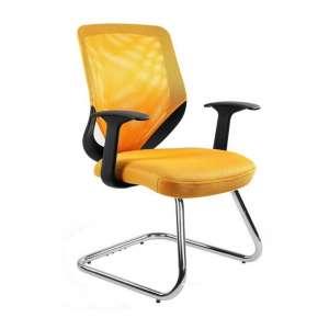 Krzesło Mobi Skid czarne