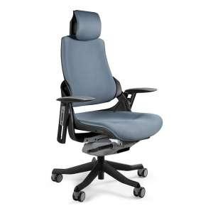 Fotel biurowy Wau Czarny -...