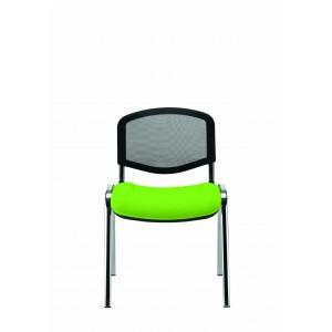 Krzesło Iso siatkowe zielone