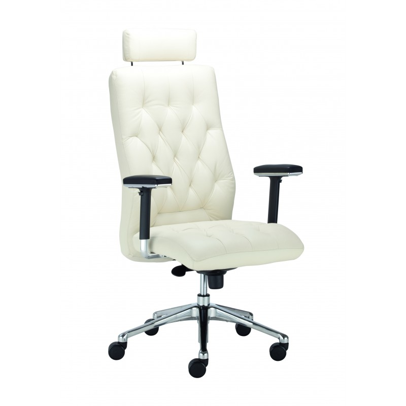 Fotel gabinetowy Chester Chrome