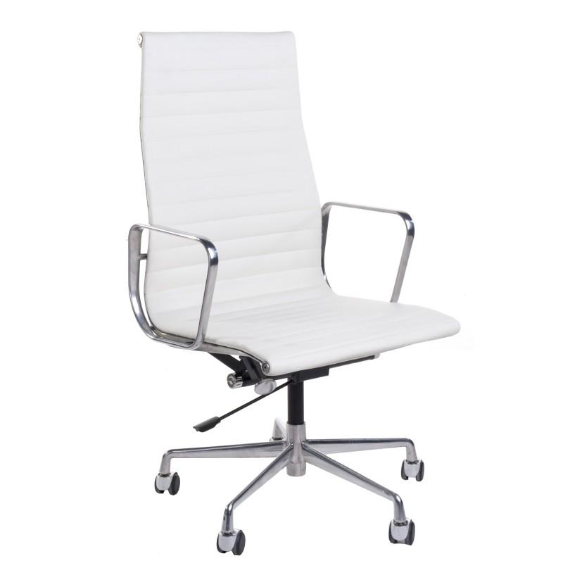 Fotel biurowy CH1191 Skóra