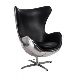 Fotel Jajo Aluminium