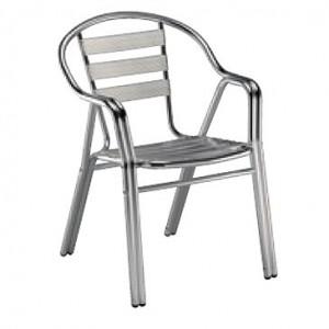 Krzesło Edge Aluminium z podłokietnikami