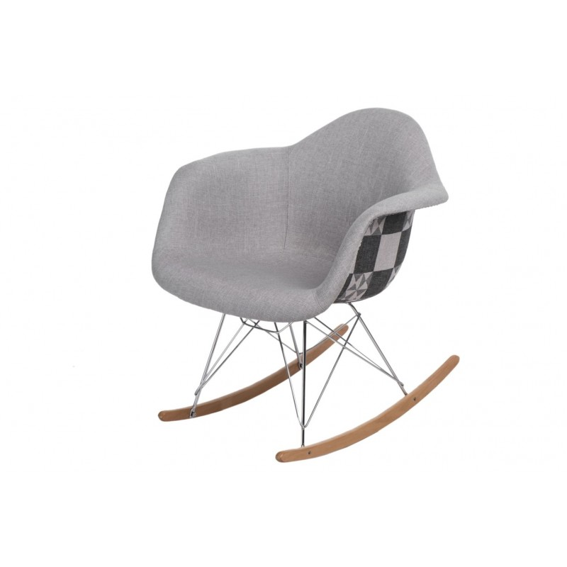 Krzesło bujane P018 RAR Pattern