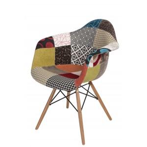 Krzesło P018W Patchwork