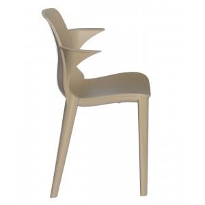 Krzesło Lyza z podłokietnikami