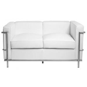Sofa skórzana 2-osobowa Kubik