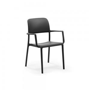 Krzesło Riva z podłokietnikami