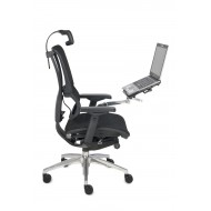 Fotel biurowy IOO z podstawką pod laptopa