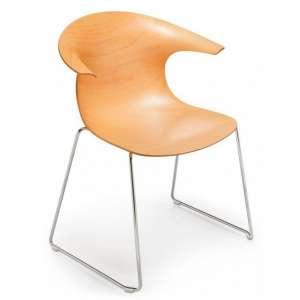 Krzesło Loop 3D wood sledge