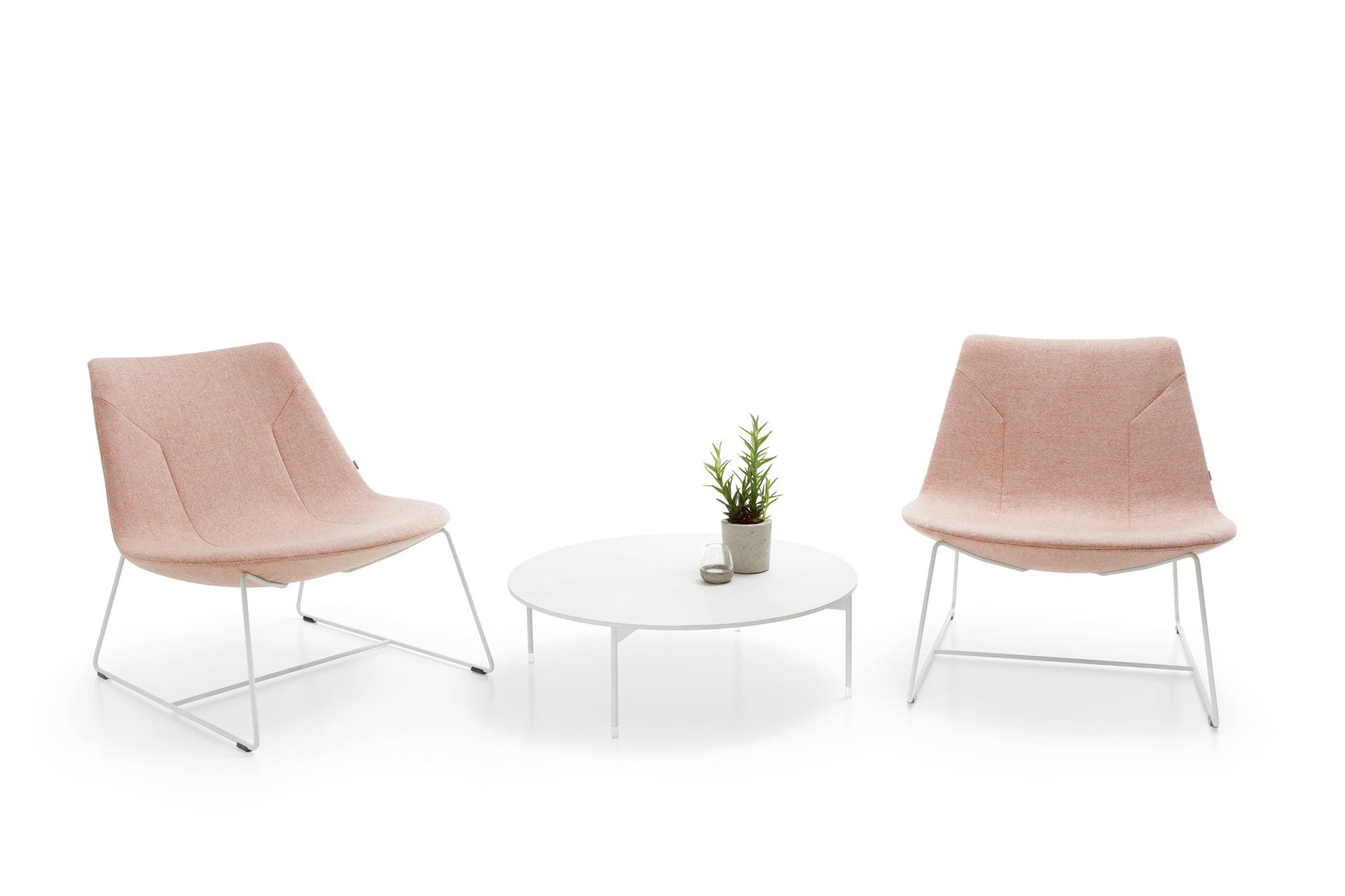 Nowoczesny fotel wypoczynkowy Chic Lounge niski
