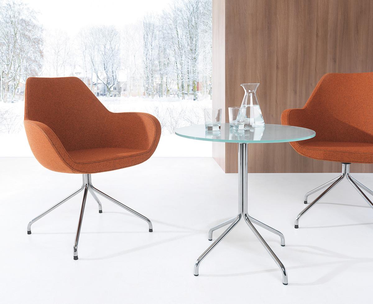 Designerskie krzesło kawiarniane