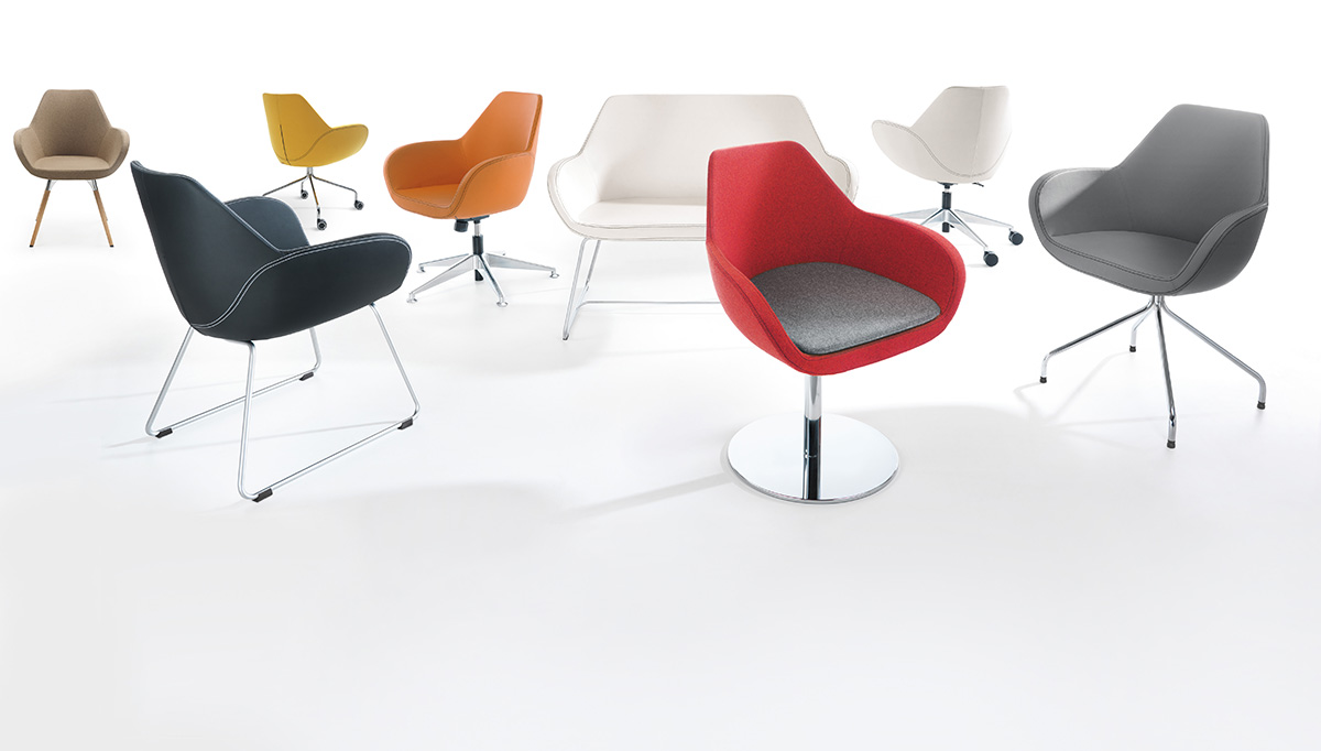 Krzesła biurowe Fan