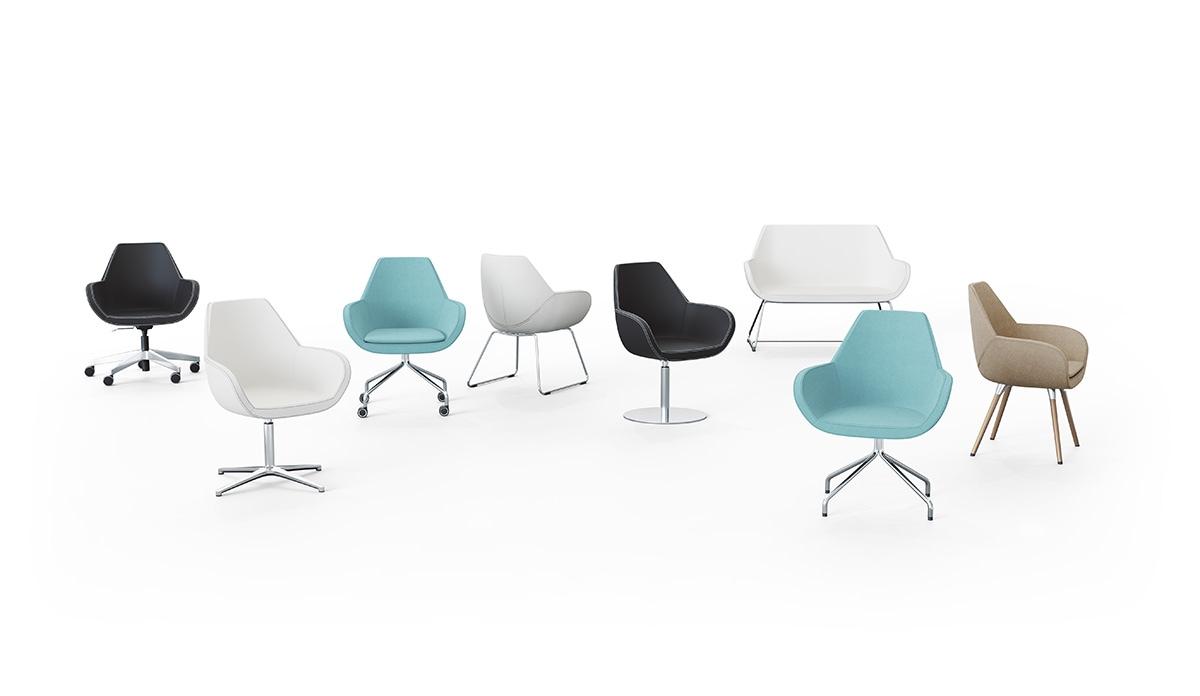 Siedziska i krzesła biurowe