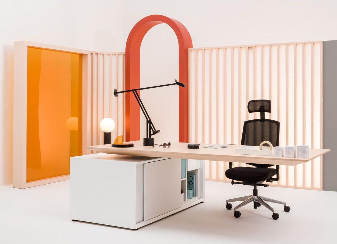 Nowoczesne biurko menadżerskie Gravity