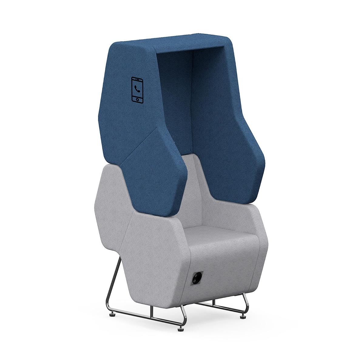 Fotel do rozmów telefonicznych