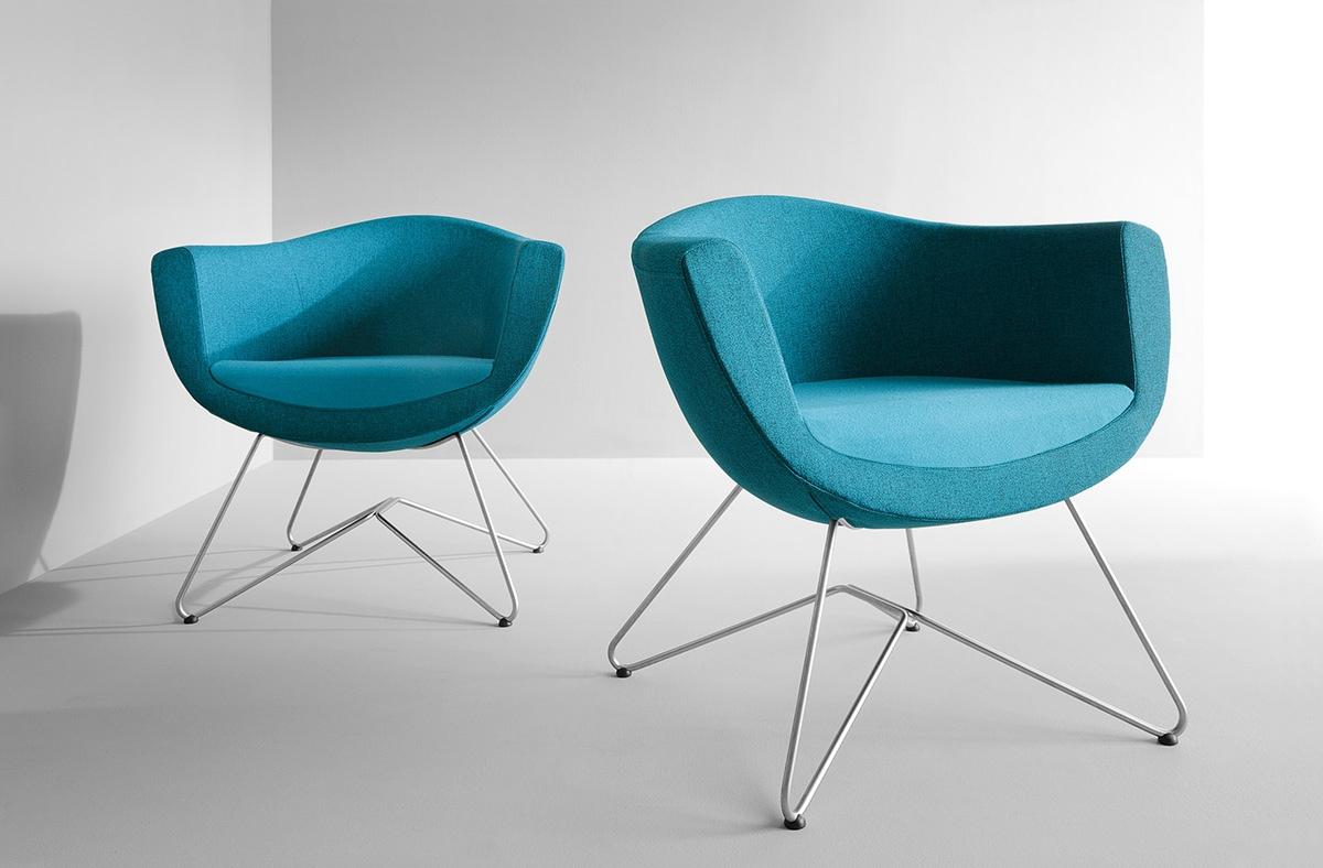 Stacjonarne fotele biurowe Sorriso