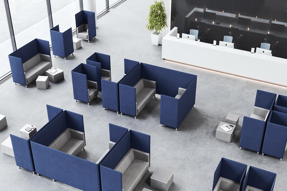Fotel do rozmów telefonicznych do open space