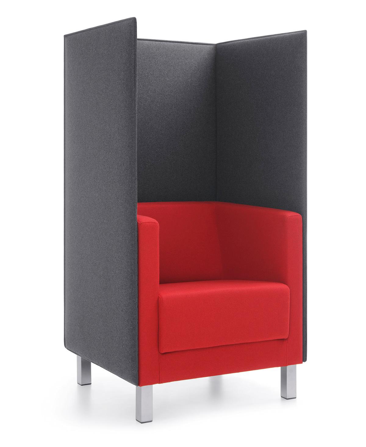 Fotel biurowy do rozmów