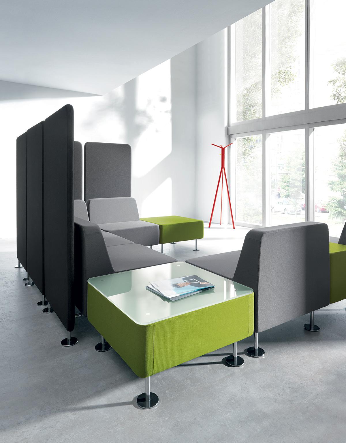 Biurowe siedziska akustyczne
